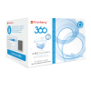 Cranberry 360 4-Ply Face Masks