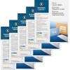 Bright White Premium Address Labels - Permanent Adhesive